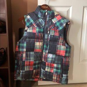 Mens Polo Ralph Lauren patchwork puffer vest